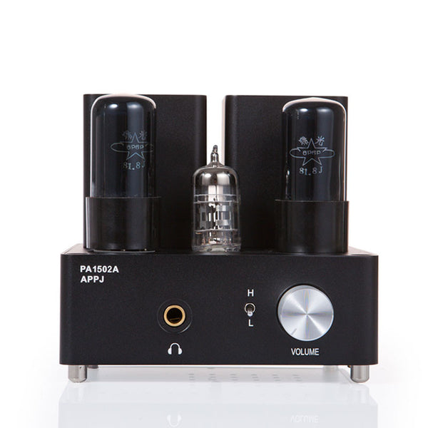 Gemtune APPJ PA1502A 6N4+6P6P tube headphone amplifier (Black)