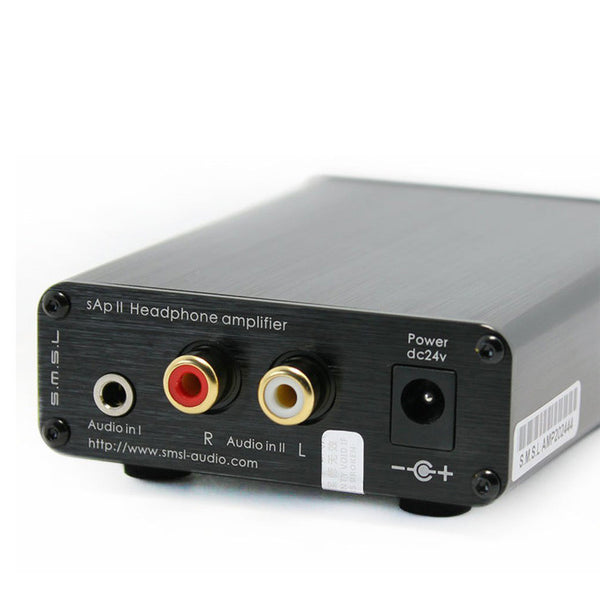 SMSL sApII Pro TPA6120A2 Big Power High Fidelity Stereo Headphone Amplifier (silver)