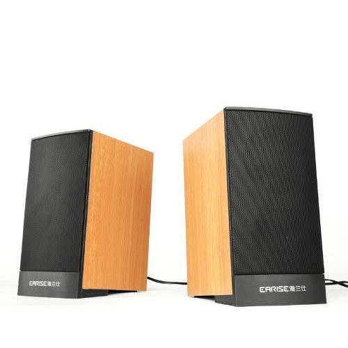 Earise Mini Computer Speakers AL-109, Powered by USB