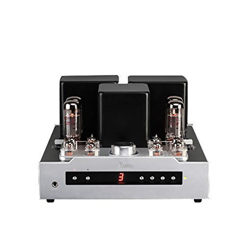 YAQIN MS-30L EL34B Hi-Fi Integrated Push-Pull Tube Amplifier with Remote Control, Headphone Output