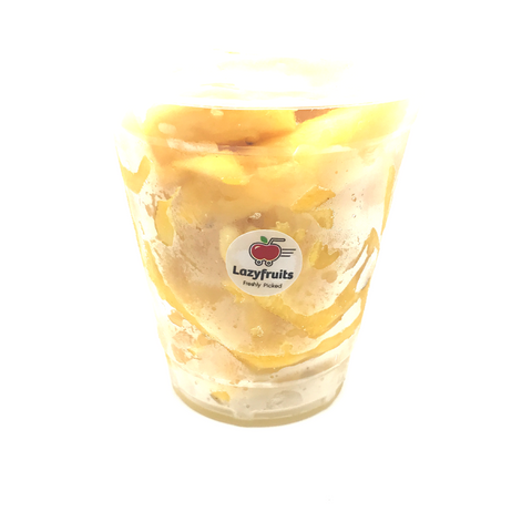 Cup Fruits: Pineapple 黄梨(切) x3 杯