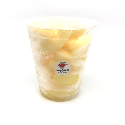Cup Fruits : Apple 红苹果(切) x3 杯