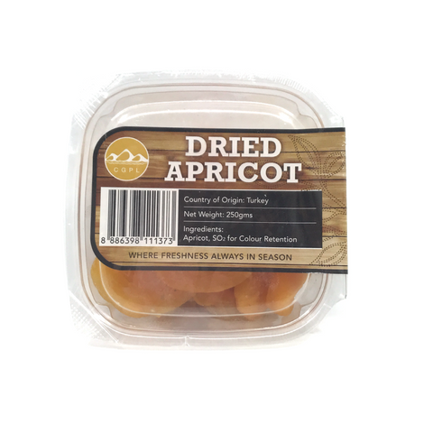 Dried Goods: Apricot