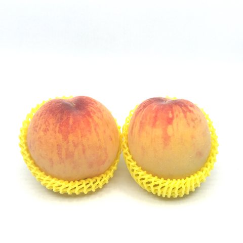 Peach: Twin pk Yellow Swirl