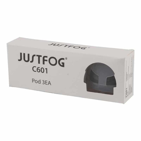 JustFog C601 Replacement Pod Cartridges (3 Pack)