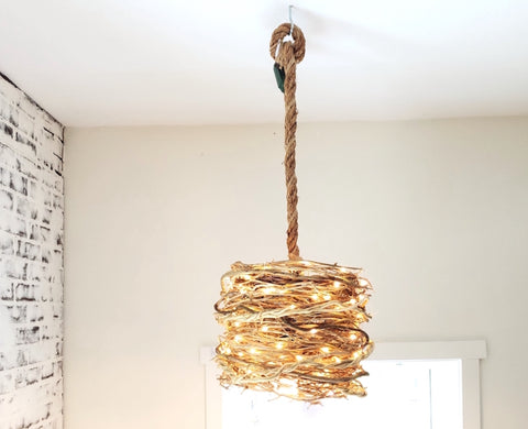 Honeysuckle Vine Pendant Light - Twig Pendant Light