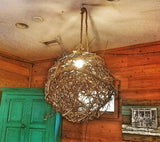 SOLD!  Twig Sphere Light