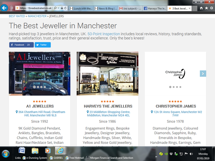 The Best Jeweller in Manchester
