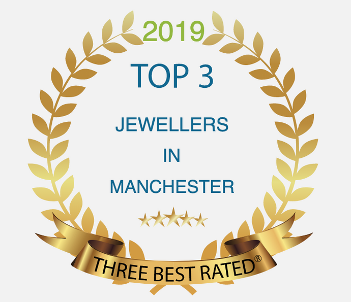 Proud to announce we are now listed as one of the TOP 3 JEWELLERS IN MANCHESTER