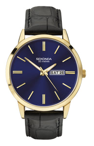 Sekonda Men's Blue Dial Strap Watch - Product Code - 1863
