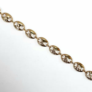 9ct Yellow Gold Hallmarked Ladies Bracelet - Product Code - VX691
