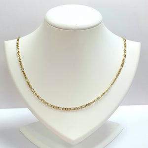 9ct Yellow Gold Hallmarked Chain - Product Code - VX237