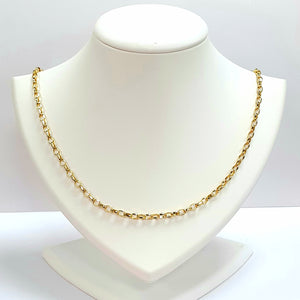 9ct Yellow Gold Hallmarked Chain - Product Code - VX90