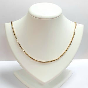 9ct Yellow Gold Hallmarked Chain - Product Code - VX347