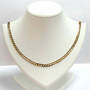 9ct Yellow Gold Hallmarked Chain - Product Code - VX948