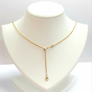 9ct Yellow Gold Hallmarked Chain - Product Code - VX236
