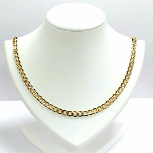 9ct Yellow Gold Hallmarked Chain - Product Code - VX947