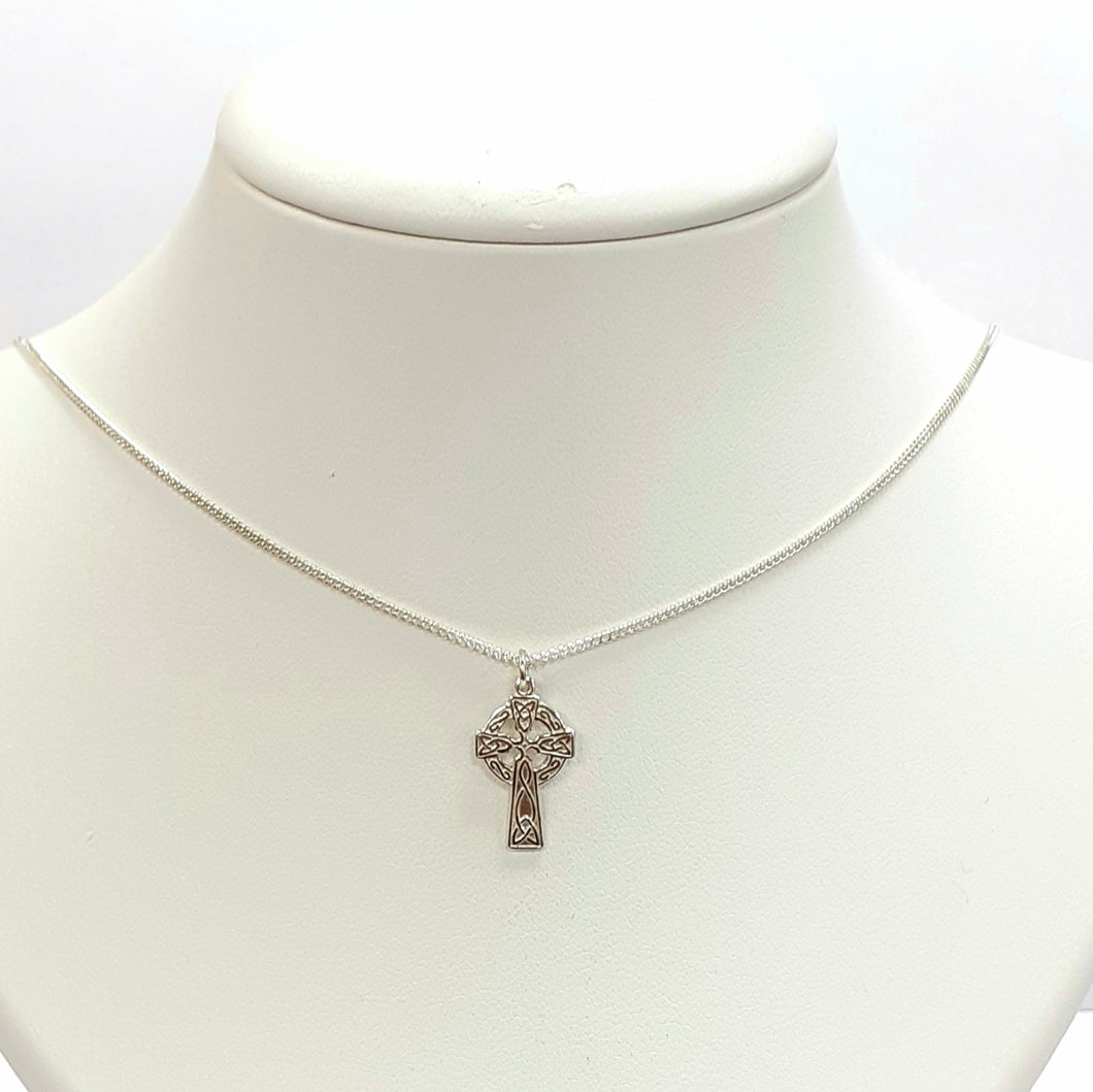 Silver Cross Chain Hallmarked 925 - Product Code - U685 & L421