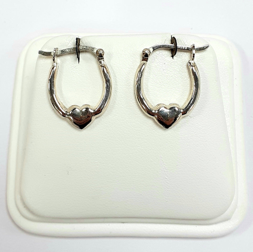 Silver Earrings Hallmarked 925 - Product Code - VX610