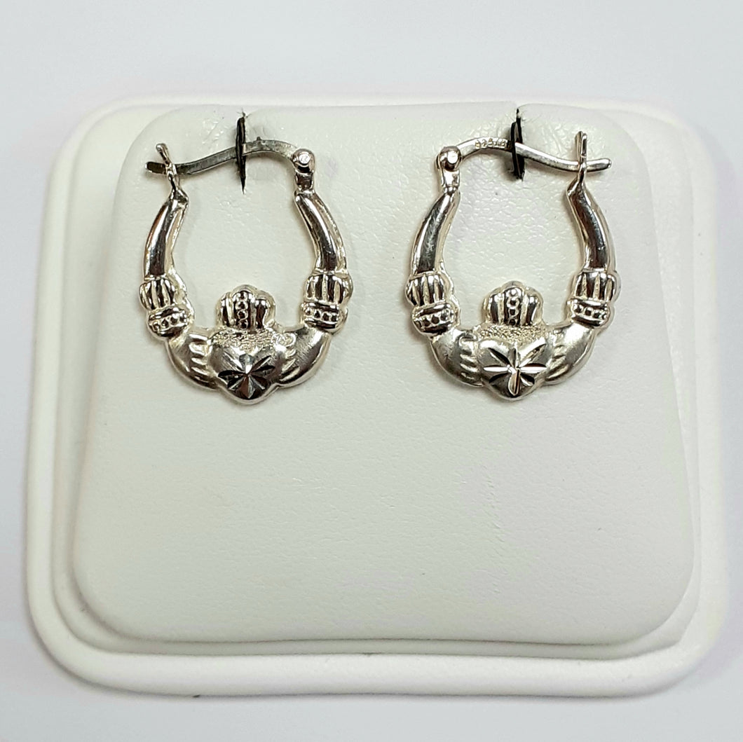 Silver Earrings Hallmarked 925 - Product Code - VX340