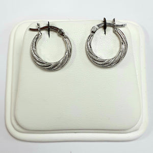 Silver Earrings Hallmarked 925 - Product Code - VX187
