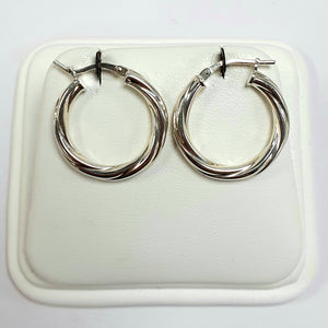 Silver Earrings Hallmarked 925 - Product Code - VX1