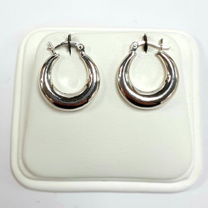 Silver Earrings Hallmarked 925 - Product Code - VX609