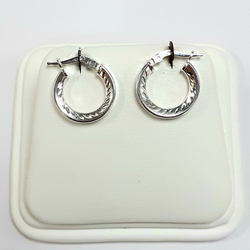 Silver Earrings Hallmarked 925 - Product Code - VX163