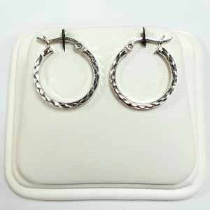 Silver Earrings Hallmarked 925 - Product Code - J539
