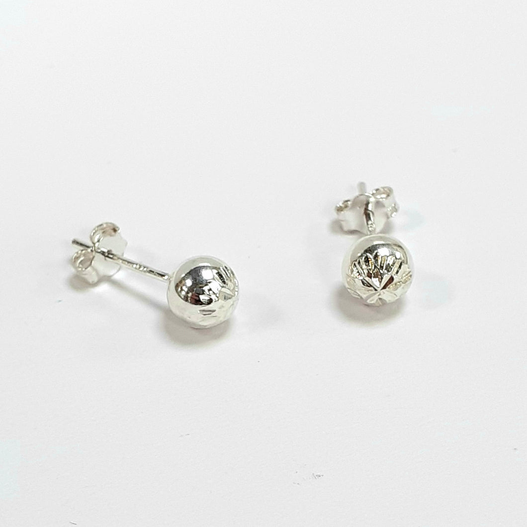 Silver Earrings Hallmarked 925 - Product Code - F175