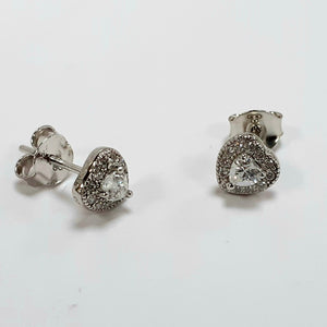 Silver Earrings Hallmarked 925 - Product Code - VX179