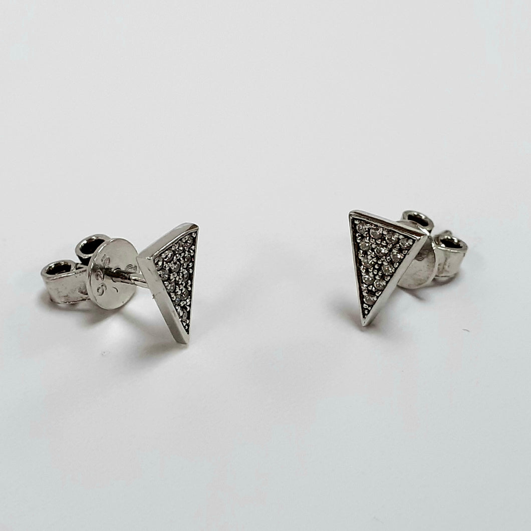 Silver Earrings Hallmarked 925 - Product Code - O57