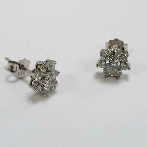 Silver Earrings Hallmarked 925 - Product Code - F54