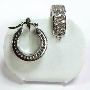 Silver Earrings Hallmarked 925 - Product Code - J358