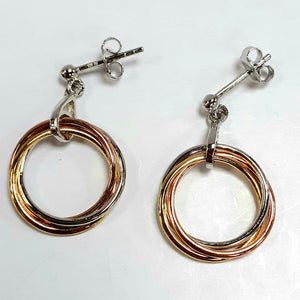 Silver Earrings Hallmarked 925 - Product Code - I600