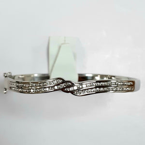 Silver Ladies Bangle - Product Code - F867