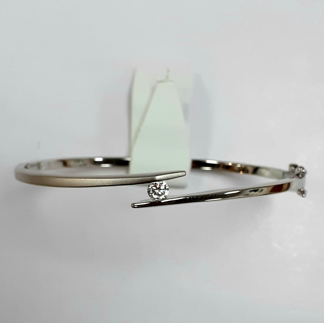 Silver Ladies Bangle - Product Code - F158