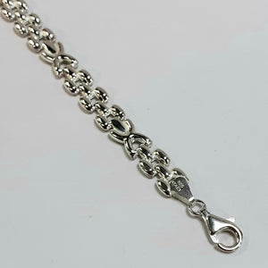 Silver Hallmarked 925 Ladies Bracelet - Product Code - VX157