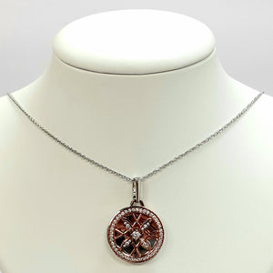 Silver Hallmarked 925 Pendant & Chain- Product Code - O30