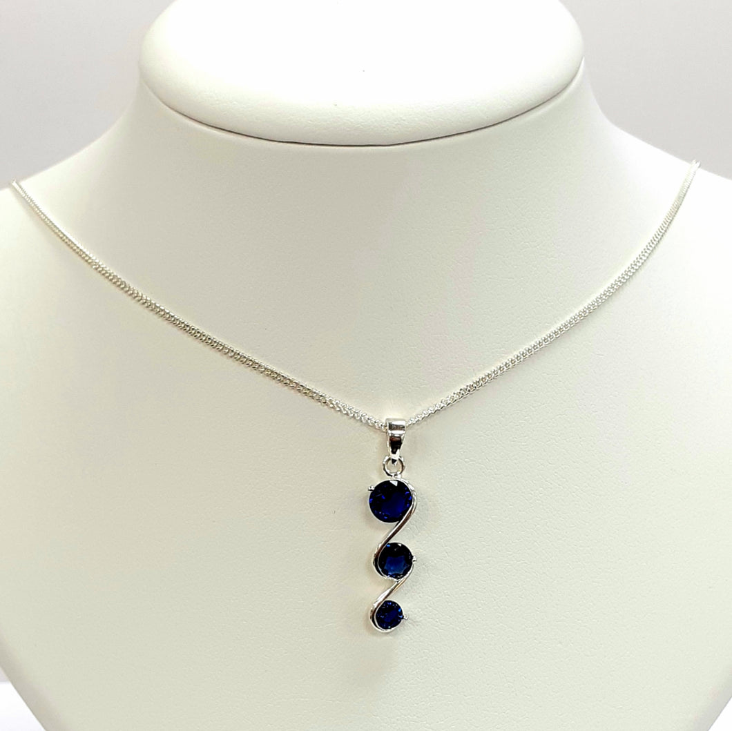 Silver Hallmarked 925 Pendant & Chain- Product Code - C515 & L150
