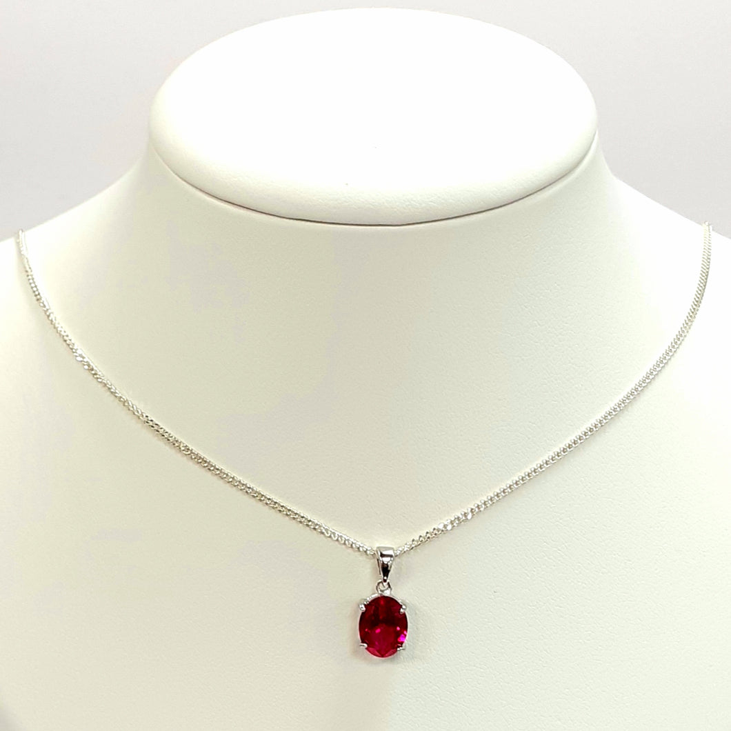 Silver Hallmarked 925 Pendant & Chain- Product Code - F781 & L150