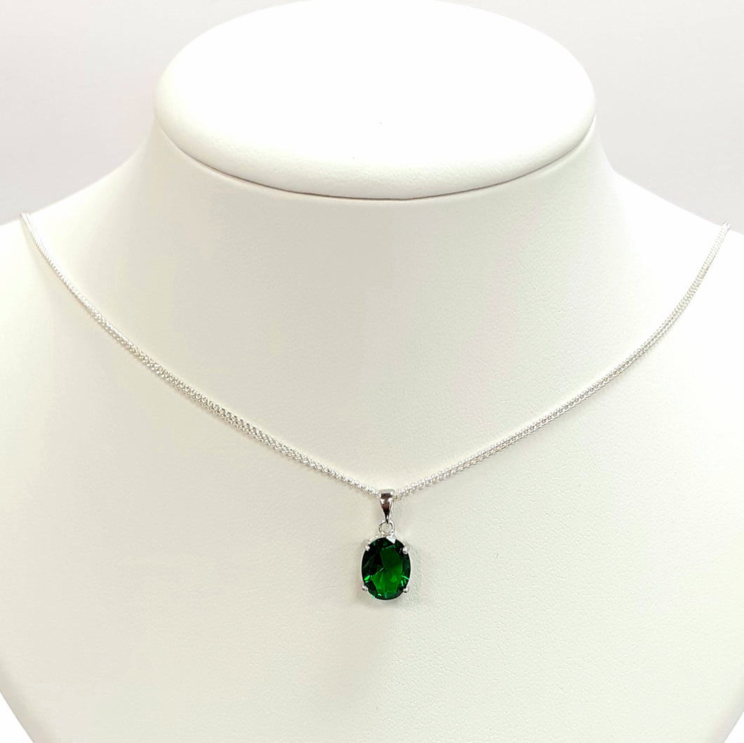 Silver Hallmarked 925 Pendant & Chain- Product Code - F780 & L150