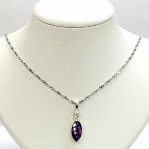 Silver Hallmarked 925 Pendant & Chain- Product Code - C306 & J476