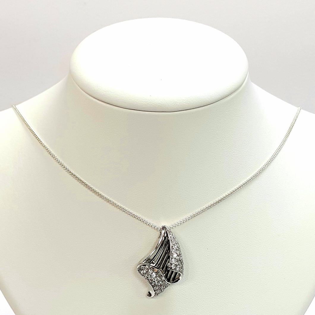 Silver Hallmarked 925 Pendant & Chain- Product Code - U550 & C728