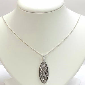 Silver Hallmarked 925 Pendant & Chain- Product Code - C709 & U550