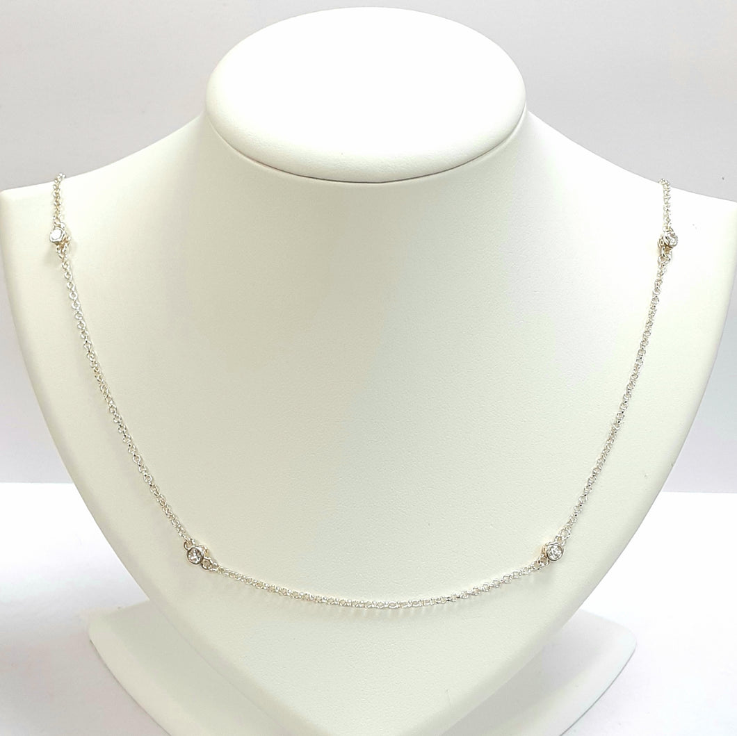 Silver Hallmarked 925 Pendant & Chain - Product Code - VX740