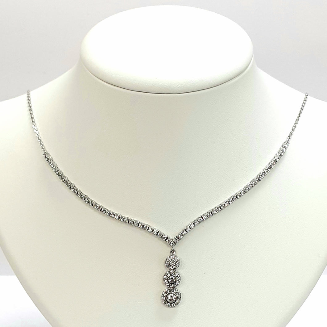 Silver Hallmarked 925 Necklet - Product Code - C707