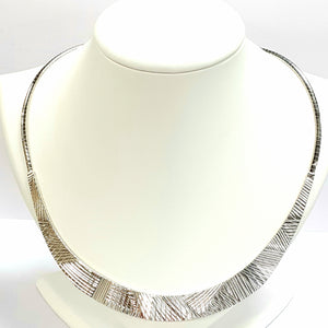 Silver Hallmarked 925 Necklet - Product Code - VX582