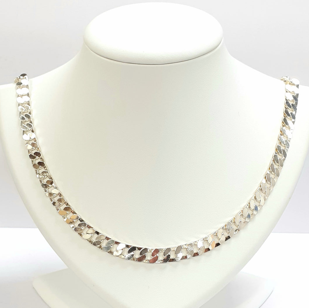 Silver Hallmarked 925 Chain - Product Code - VX129