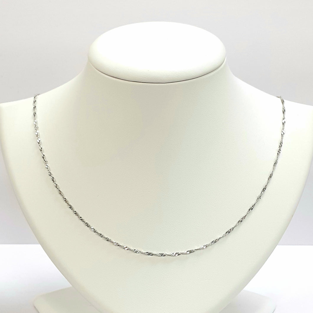 Silver Hallmarked 925 Chain - Product Code - J638